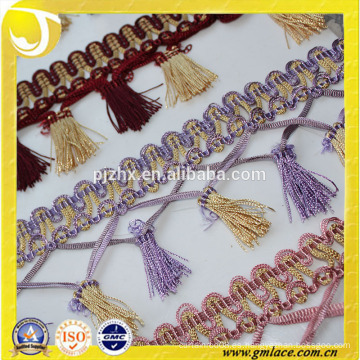 Guarnición de la tela india de la tela para la cortina y la cubierta del amortiguador