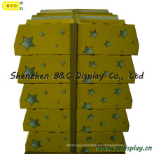 Supermarkets Counter PDQ Display Stand con Cmyk Artwork con SGS (B & C-C025)
