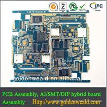 Assemblée PCB, Assemblée PCBA, Electronics PCBA Fabricant 94 v0 rohs carte PCB