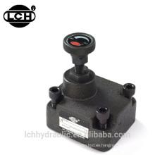 válvula de control de flujo direccional hidráulico 112l / min 114 litros