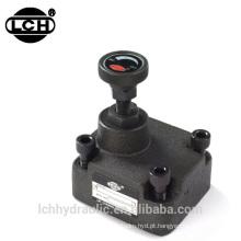 válvula de controle de fluxo direcional hidráulica 112l / min 114 litros