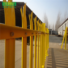 metal palisade fence panels powder coated palisade fence