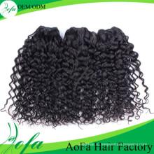 Дешевые 100% Малайзии Человеческие Волосы Соткать Свободная Скручиваемость