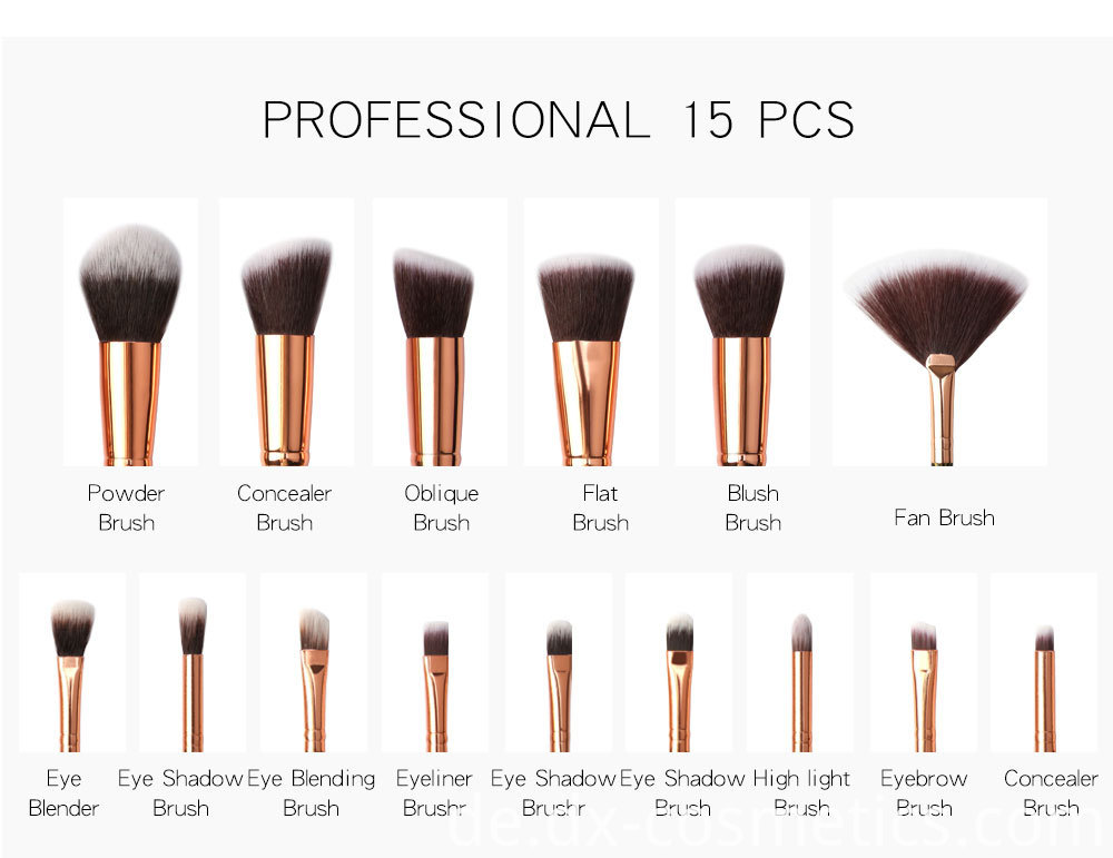 8 Pcs Eye Makeup Brushes Set 7