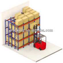 Temporary warehouse structures,The warehouse equipment quality push back racking