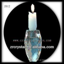 Suporte de vela de cristal popular Z012