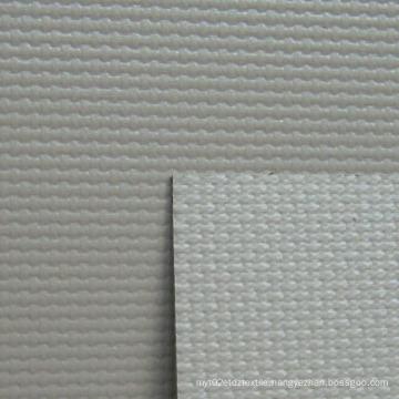 PVC Fiberglass Cloth Curtain Fabric in Grey Color
