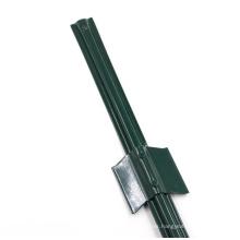 Green Color Steel U Channel Posts Grape Stake U Fencing  Post