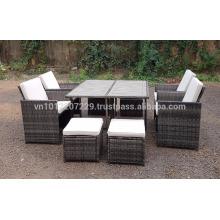 Muebles de jardín / Muebles de jardín de mimbre de poliéster de PE - Lounge Set