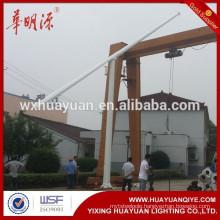 10m Octagonal Mid hinged lighting pole