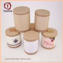 Eco-Friendly Round Paper Tubes postaux Boite à lettres
