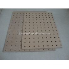 Tableros duros perforados / tableros duros decorativos / paneles de tableros duros 4x8