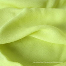 Man-Made Fiber Lady Shirt Fabric 100%Viscose Crepe Fabric