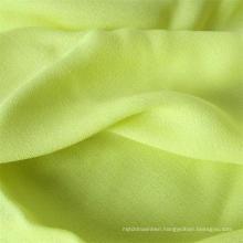 Man-Made Fiber Lady Shirt Fabric 100%Viscose Crepe Fabric
