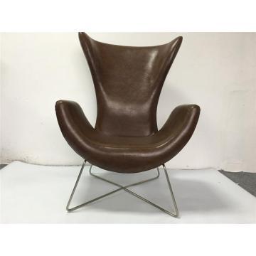 high-back sofa chair with metal legs cheap microfiber