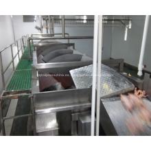Enfriador de tornillo para equipos de procesamiento de aves de corral
