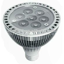 110V AC PAR30 7 * 1W LED Lampen Hogar de luz