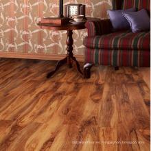 En piso de madera sólido de la nuez sólida plana de las ventas altas para el proyecto del hotel