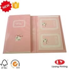 Personalizado Hardcover lindo Bloc de notas de impresión conjunto