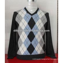 intarsia cashmere sweaters for men