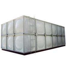tanque modular / frp tanque de agua modular para panel / tanque de agua cuadrado frp