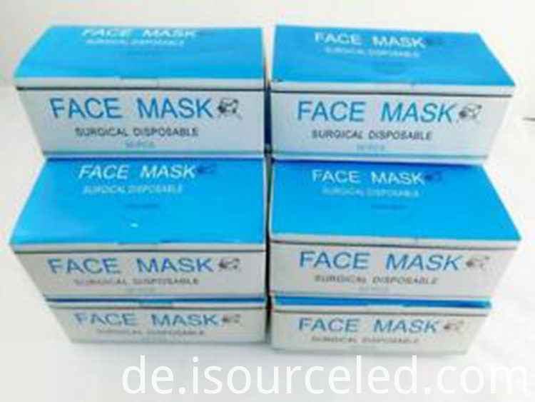 3ply Disposable earloop Medical surgical face mask