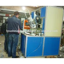 Escova de madeira automática do punho do CNC que faz a máquina