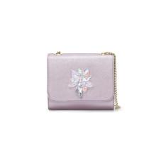 Trendy Rhinestone Shoulder Bag Ladies Crossbody PU Handbag Wzx1019