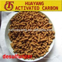goff mercaptan carbon castanho amarelo desulfuração carvão ativado