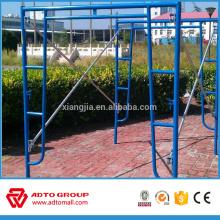 hecho en China Andamio sistema de estructura de escalera de acero