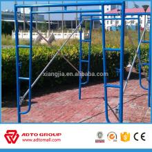 fabriqué en Chine Échafaudage système d'armature d'échelle en acier