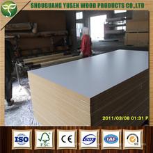 Melamined Coated MDF / Plain MDF Board for Furniture
