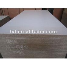 E1 glue white melamine particle board 1220*2440*16mm