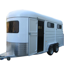 Cheap standard horse trailer Horse Float for sale