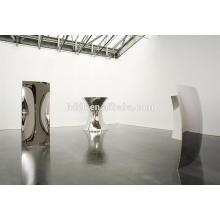 Anish Kapoor Edelstahl Spiegel Skulptur