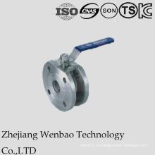 Válvula delgada de acero inoxidable Wcb Wafer de Italia con baja presión