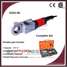 """SQ30-2B 3/8 """"-2"""" hand-held portátil máquina de segmentação de tubos com melhor preço"""