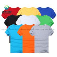 Multi-Choice Cotton Round Neck T-Shirt / Clothes / Garment