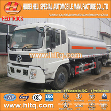 DONGFENG 4X2 fuel tanker truck 15000L hot sale good quality for sale