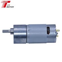 GM37-555 12v dc gear motor for homa appliance 100rpm