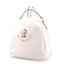Designer Fashionable Rivet Kitty Rhinestone Backpack Bag (LY05084)