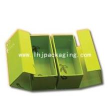 Caixa de presente de embalagem de sapatos de alta qualidade com estampagem de folha
