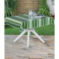 PVC-bedruckte Muster und quadratische Form PVC Tischdecke mit Hintergrund (TJ0088)