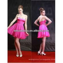 2013 Novo estilo sexy strapless curto prom / noite / vestido de festa