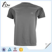 Kundenspezifische Reversible Blank Fitness Bekleidung Dry Fit Plain T-Shirts