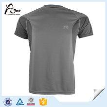 Обычная обратная пустая одежда для фитнеса Сухая повязка Обычная футболка