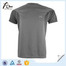 Benutzerdefinierte Reversible Blank Fitness Kleidung trocken Fit Plain T-Shirts