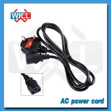 BS 13A 250V fusible Câble d'alimentation britannique avec prise