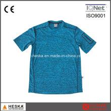 Camisa de futebol formação t-shirt respirável esportes