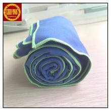 Manta de microfibra de camurça azul 200gsm 75 * 150cm